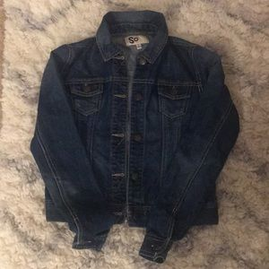Denim jacket perfect to throw on over any top!